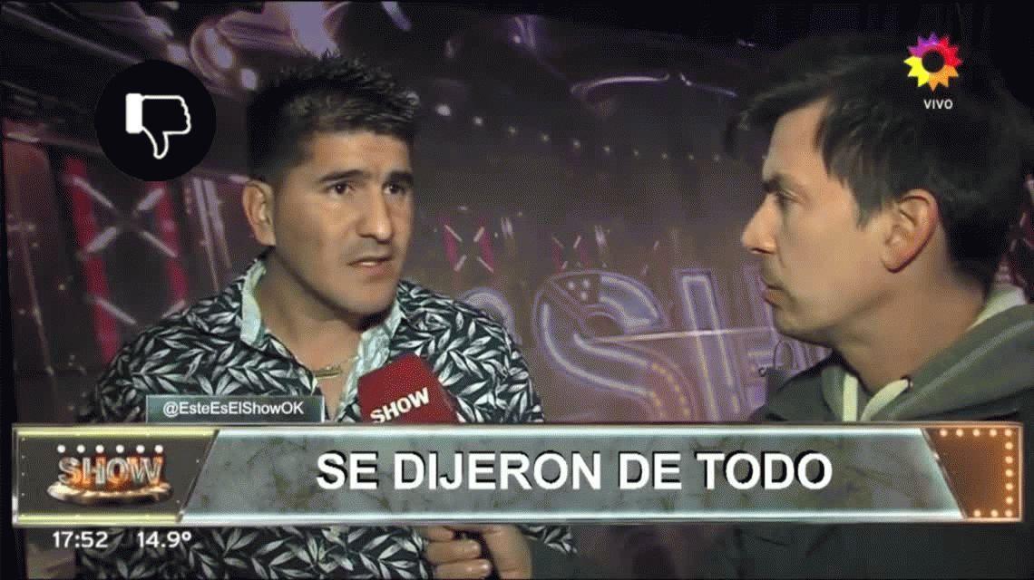 Fuerte pelea entre La Bomba Tucumana y Brian Lanzelotta