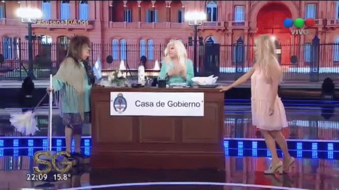 Graciela Alfano habló de su romance con el presidente Macri