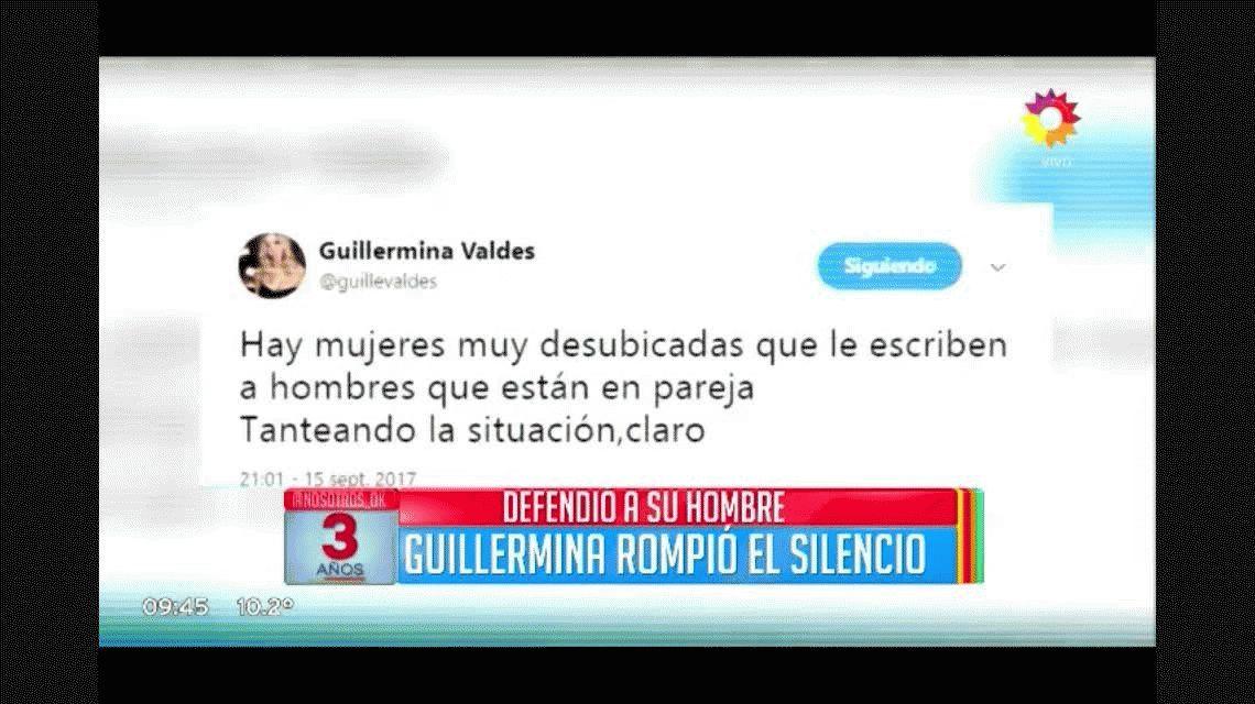 Guillermina Valdes vs las mujeres desubicadas: ¿por qué publicó esa frase?