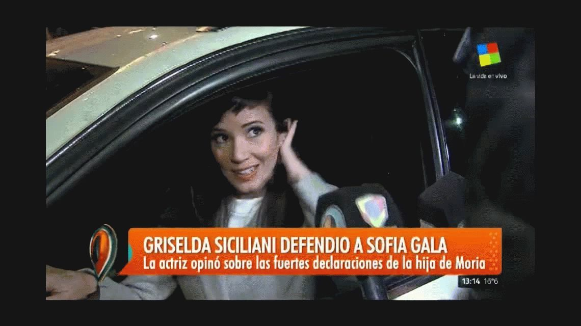 Griselda Siciliani apoyó a Sofía Gala en su defensa de las trabajadoras sexuales