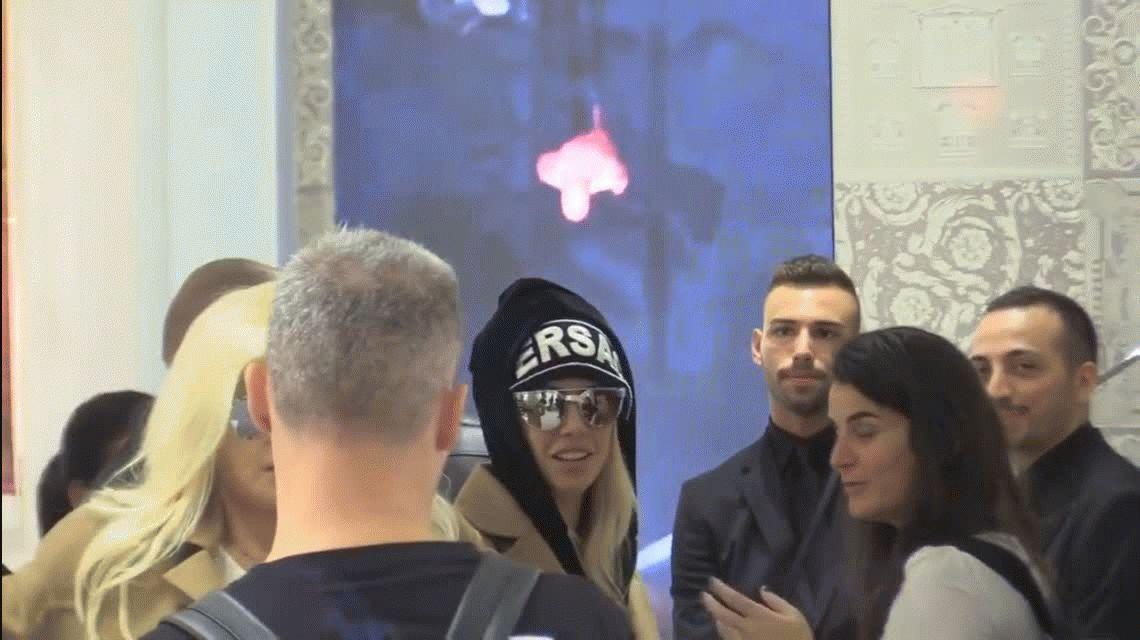 Furioso, Mauro Icardi le rechazó un abrazo a Wanda y la dejó descolocada