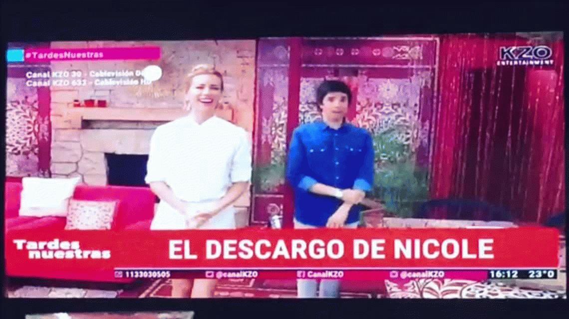 El video explicativo de Nicole Neumann: No es que me toquen la quena, es...