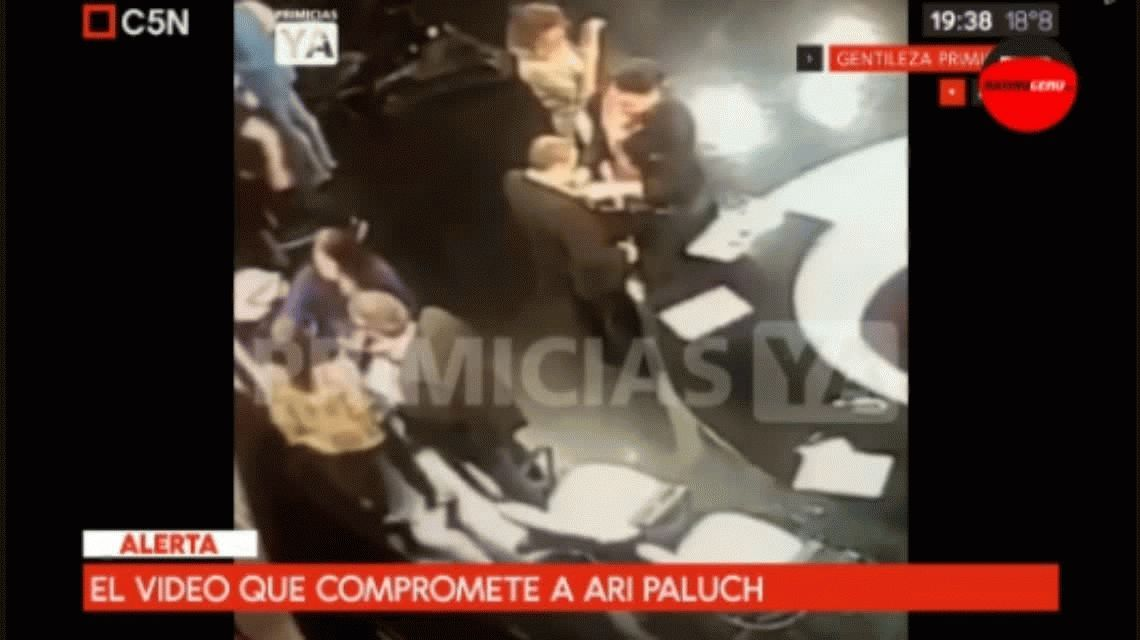 Apareció el video de la denuncia a Ari Paluch por acoso sexual