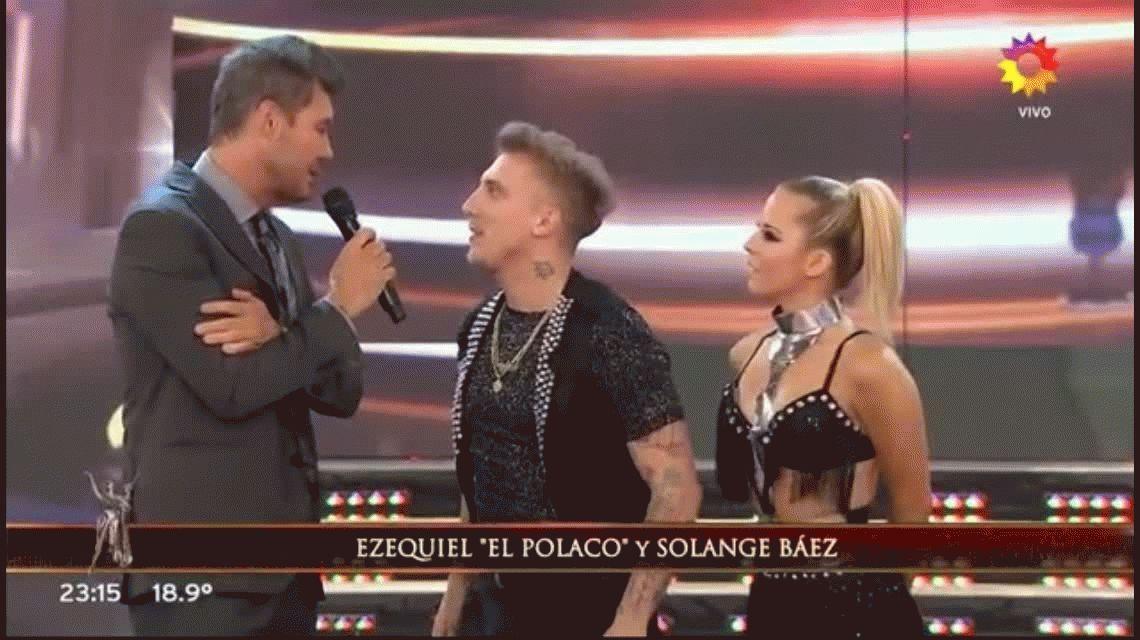 El Polaco no quiso decir si se va a casar o no con Silvina Luna