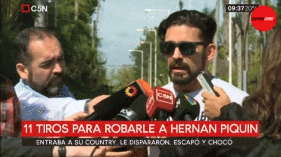 Hernán Piquín: Pensé que me mataban