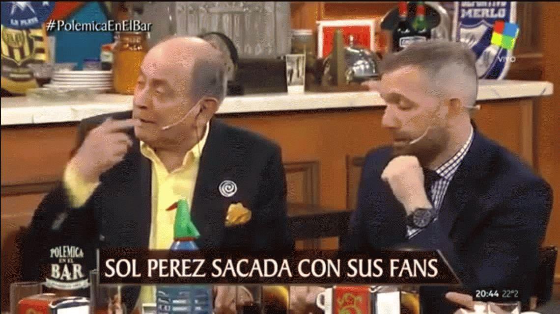 Chiche Gelblung, contra Sol Pérez: Jodete si te dicen te rompería el tuje