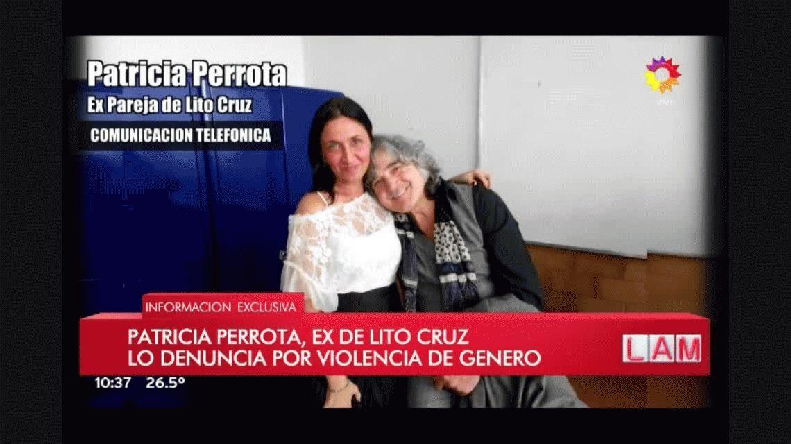 Fuerte denuncia por violencia de género contra Lito Cruz