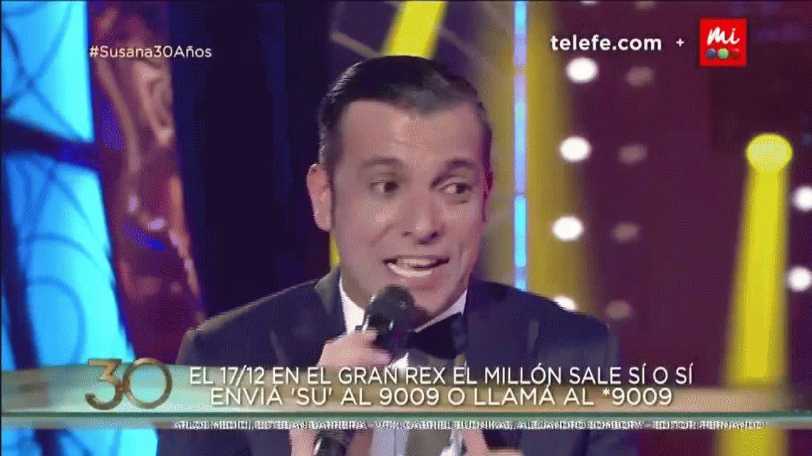 ¡Pedro! ¡Mirá quién vino! El Contra de Juan Carlos Calabró por Martín Bossi con Susana Giménez