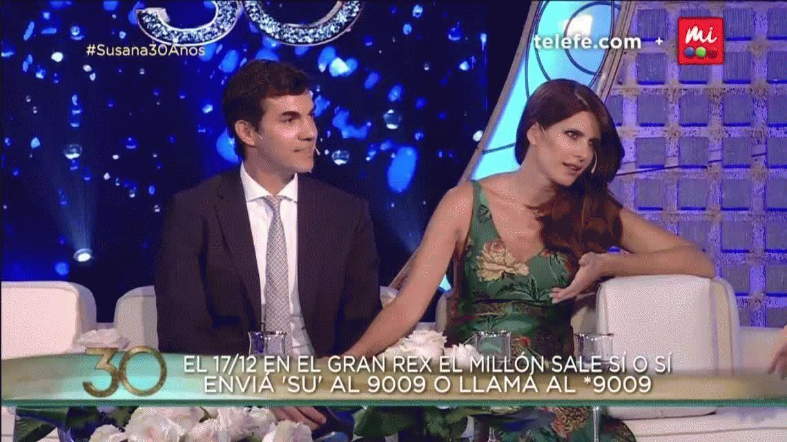 Susana Giménez reveló que Isabel Macedo y Juan Manuel Urtubey serán papás de una nena