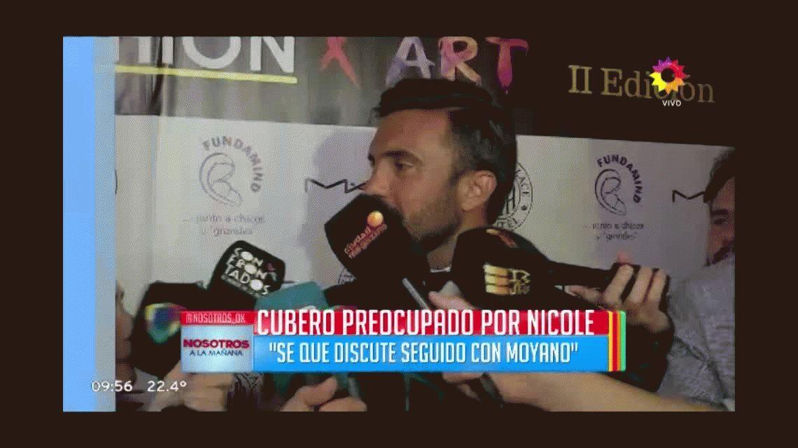 Poroto Cubero reveló detalles de la intimidad de Nicole Neumann y Facundo Moyano