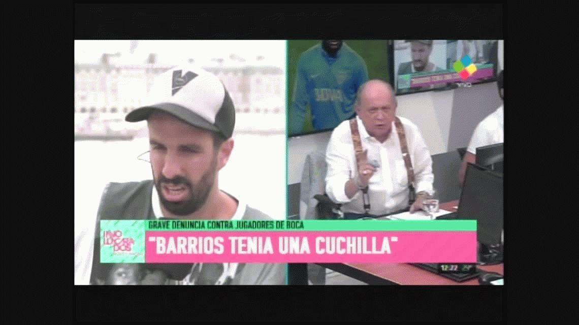Por el escándalo en Boca, Flavio Azzaro y Pablo Duggan se cruzaron al aire