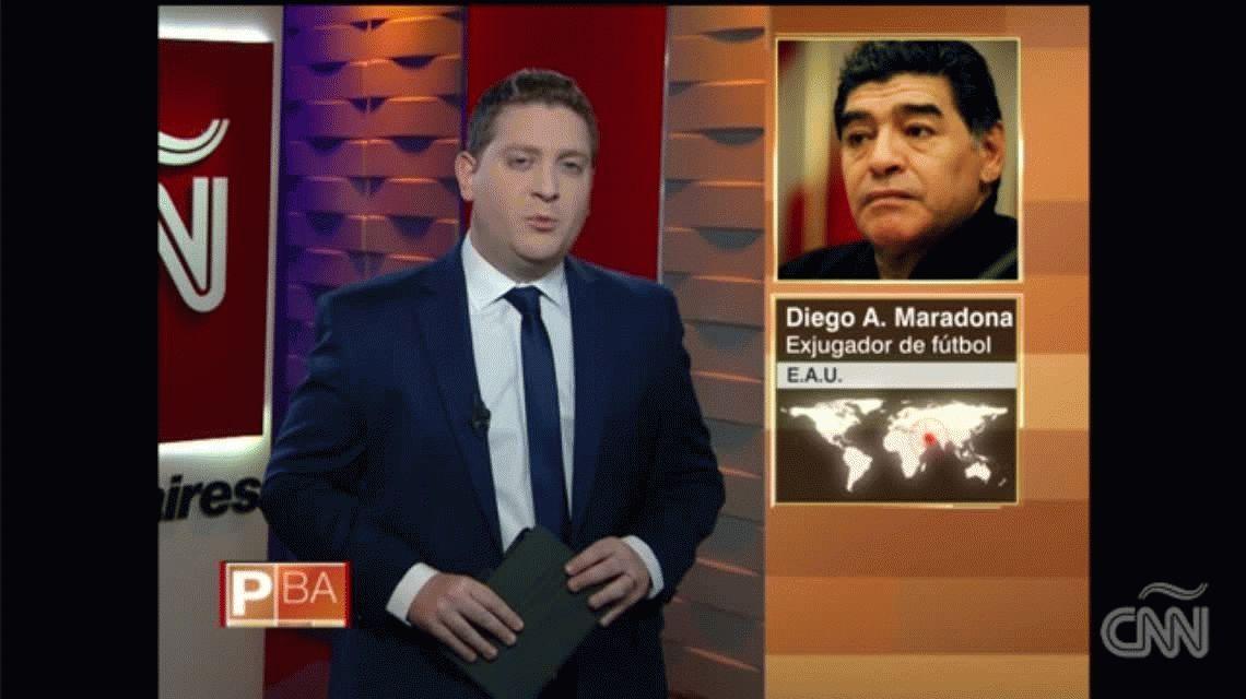 Maradona dio una nueva explicación de su ausencia en la boda de Dalma