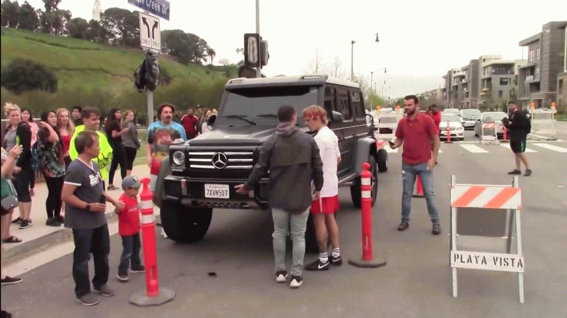Justin Bieber agredió a un fan que quería sacarse una foto con él