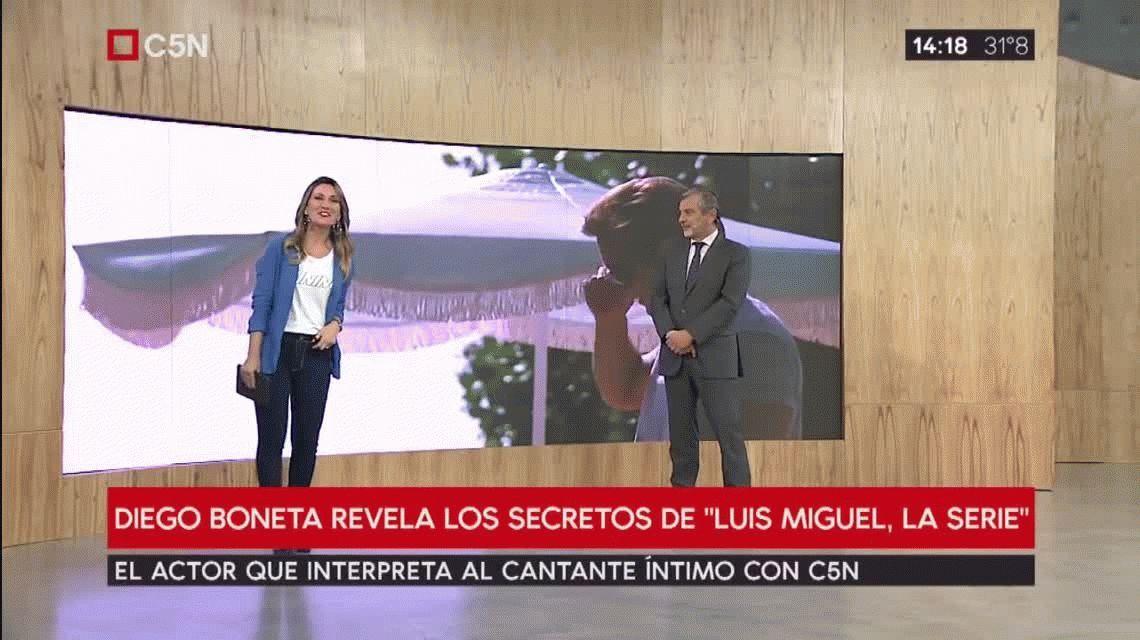 El mayor desafío del actor de Luis Miguel, la serie para parecerse al cantante