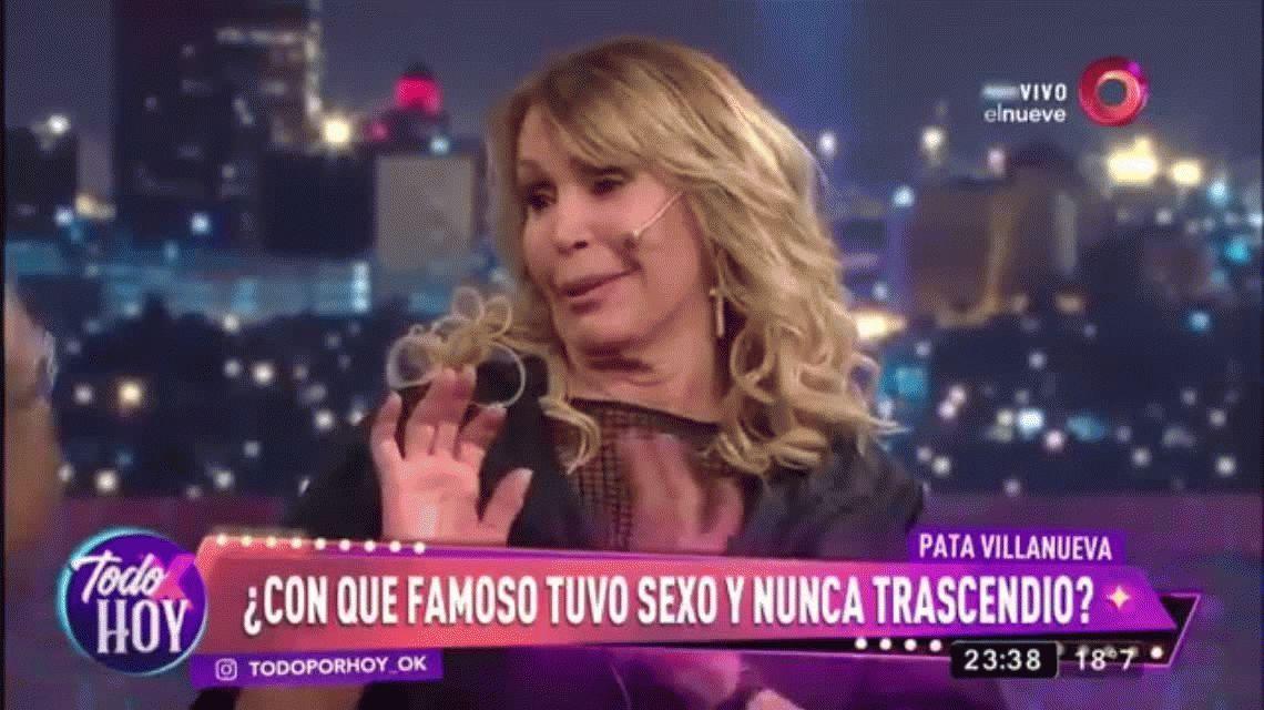 La foto más buscada del gran beso en la boca de Pata Villanueva y Juan Martín del Potro