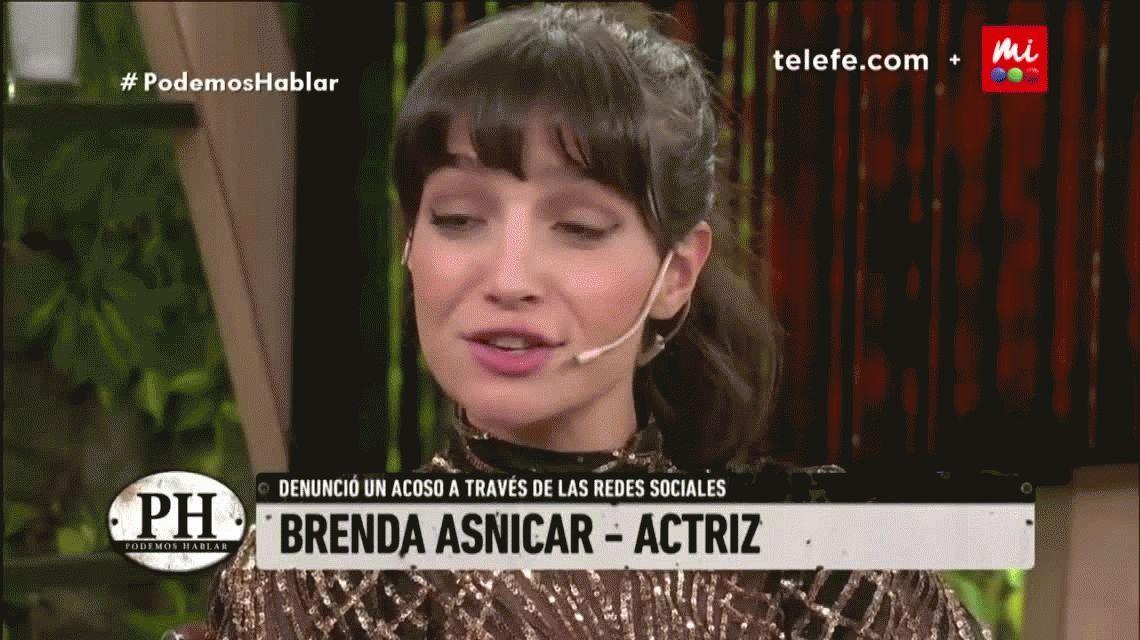 Brenda Asnicar reveló que fue acosada cuando tenía 16 años