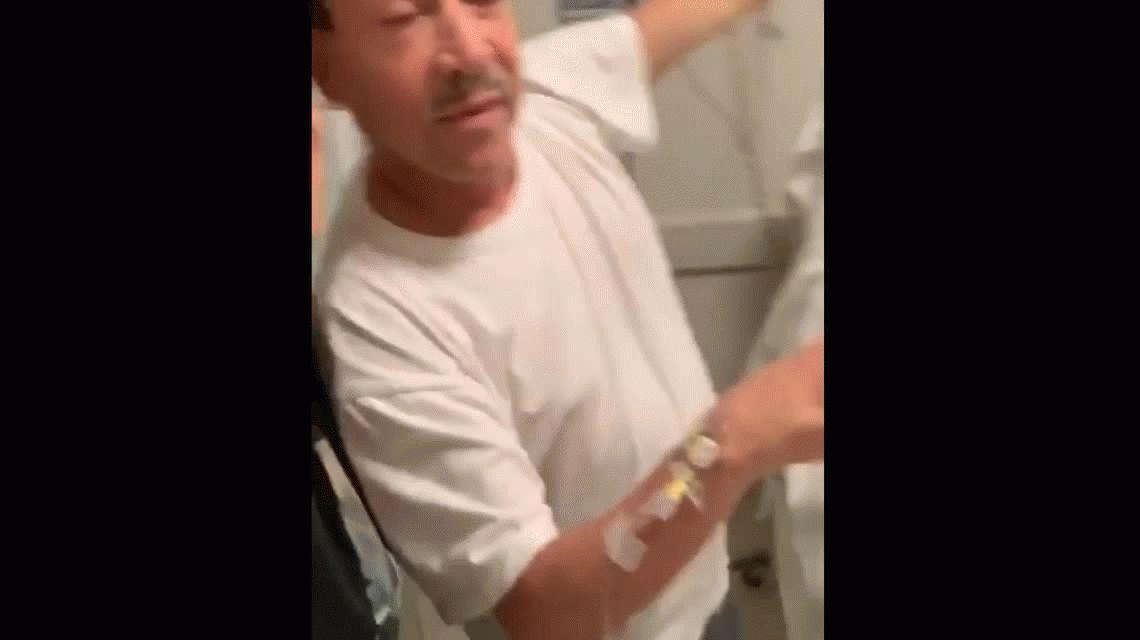 El video de Aníbal Pachano bailando en quimioterapia