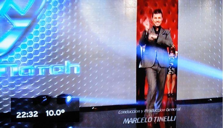 22.32: la hora señalada por Marcelo Tinelli
