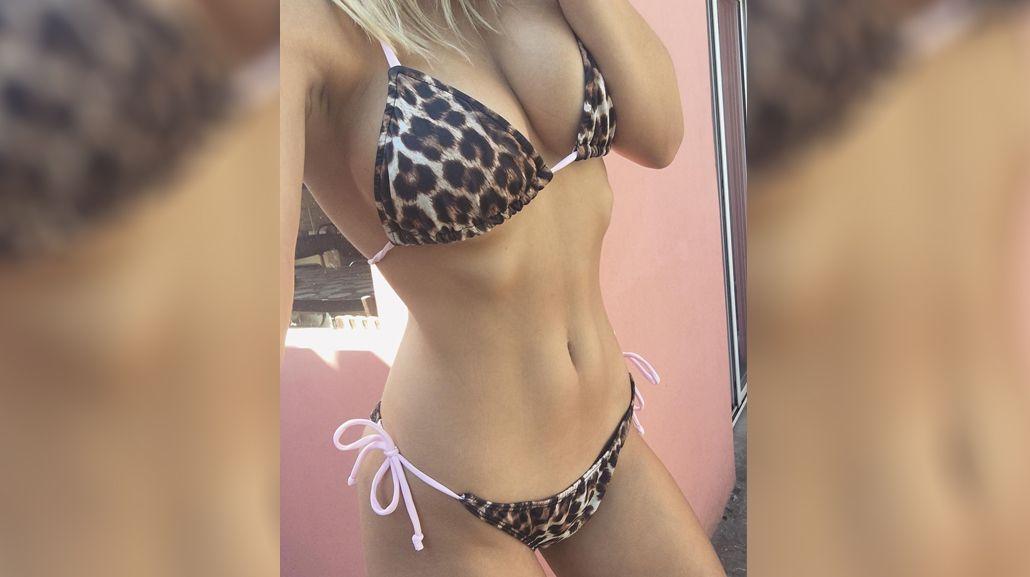 Instagram: Yasmila Mendeguía, muy sensual durante sus