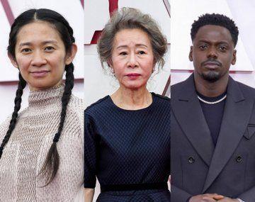 Chloé Zhao, Yuh-Jung Youn, Daniel Kaluuya y Emerald Fennell, algunos de los ganadores a los Oscars