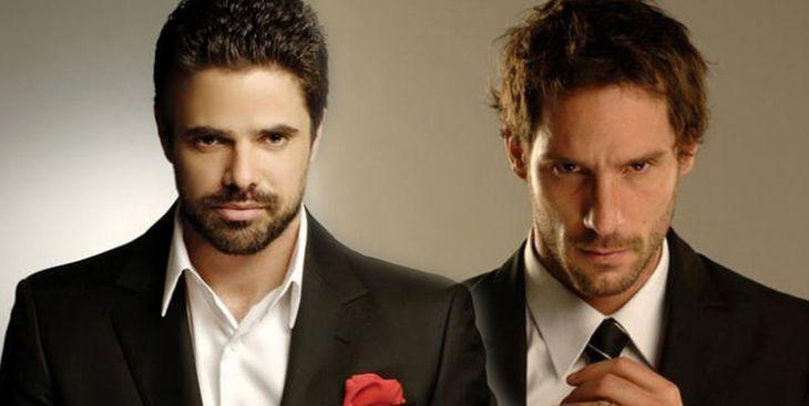 Luciano Castro y Gonzalo Valenzuela grabaron sus primeras escenas de Sos mi hombre