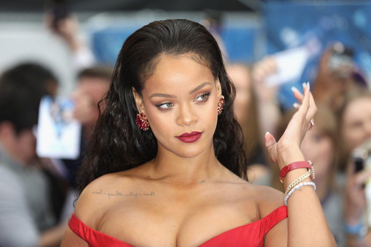 Rihanna y una situación desagradable