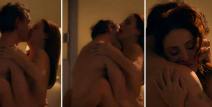 Federico Amador y Eleonora Wexler hablaron de las escenas de sexo en ADDA.