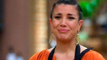 andrea rincon, eliminada de masterchef: su emotiva despedida