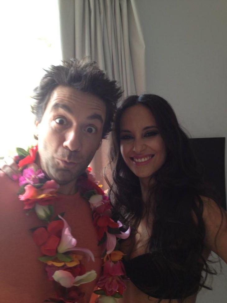 El back de la foto de marquesina para la nueva comedia de Paula y Peter