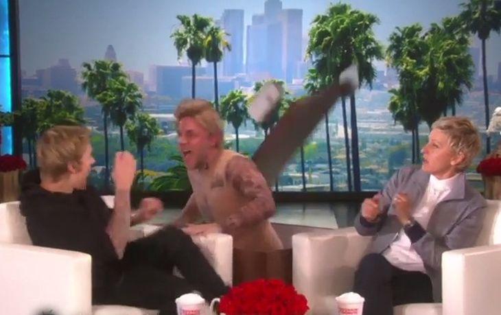 Justin Bieber se llevó el susto de su vida