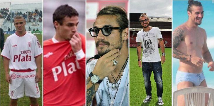 La increíble transformación de Daniel Osvaldo en 10 años: el antes y el después