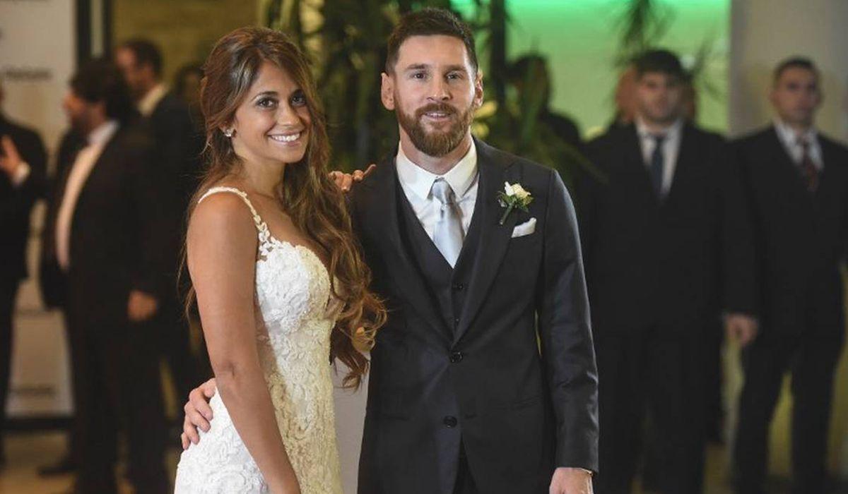 Lionel Messi y Antonela Roccuzzo cumplen tres años de casados