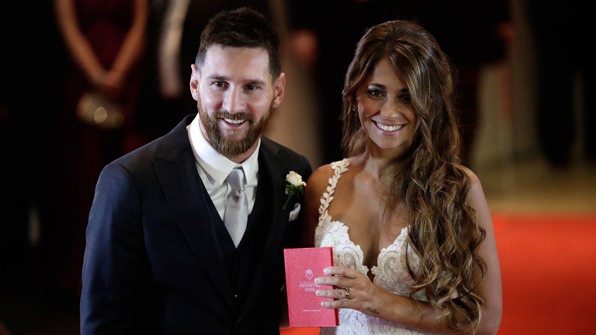 Messi y Antonela se casaron el 30 de junio en el City Center de Rosario