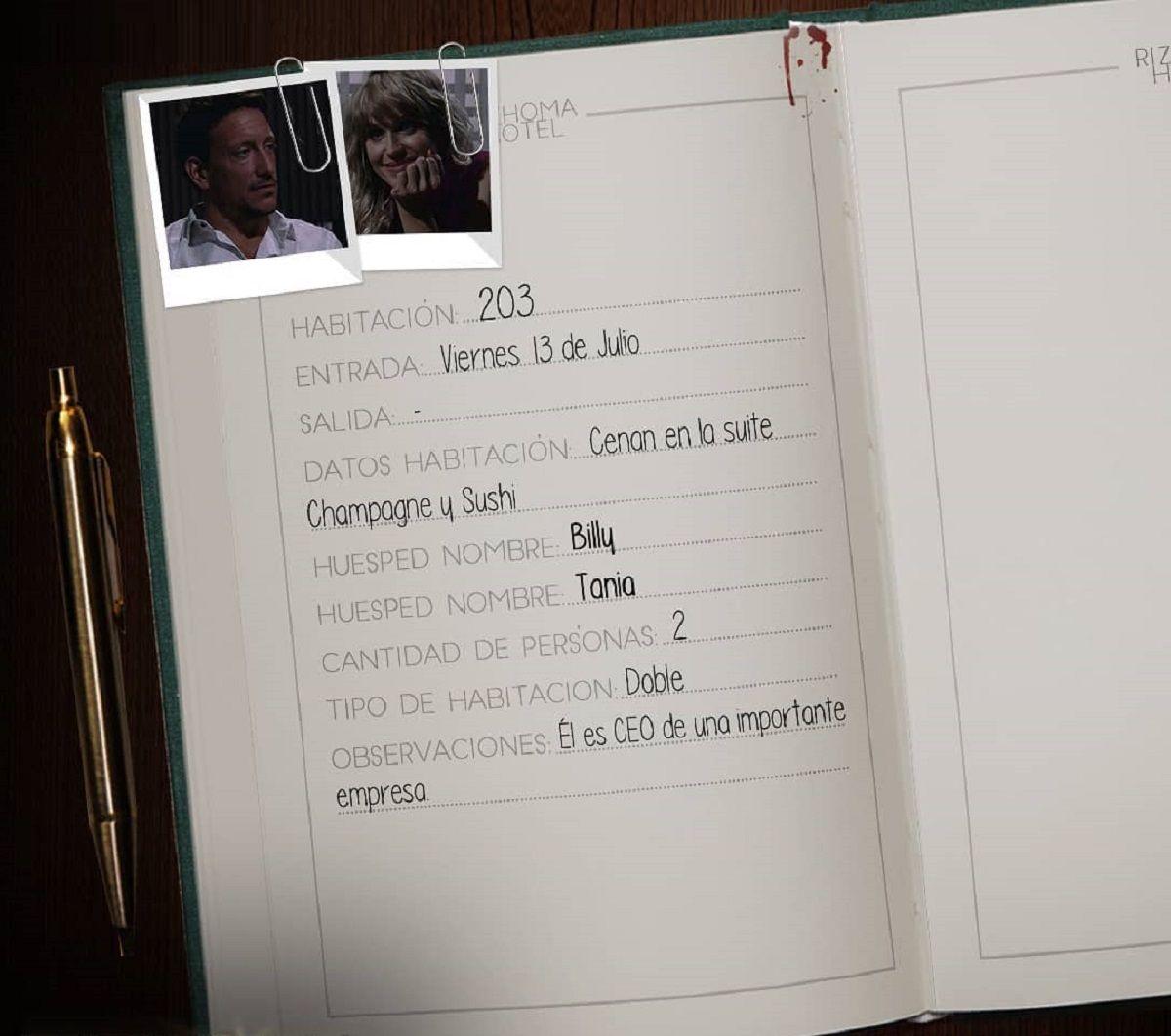 Nico Vázquez y Brenda Gandini protagonizaron el segundo envío de Rizhoma Hotel