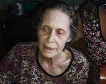Empeoró el estado de salud de Camila Perissé: está en un geriátrico y pesa 46 kilos
