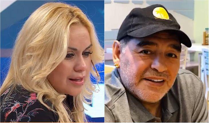 Verónica Ojeda apuntó contra Maradona.