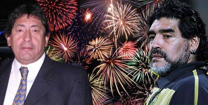 Lito Pintos: Diego no vuelve hasta el 2013, ya compró fuegos artificiales en Dubai