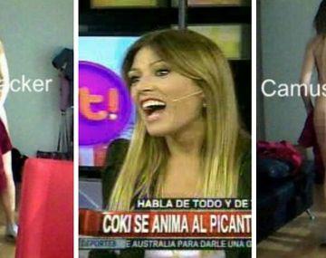 Coki Ramírez reveló qué estaba haciendo cuando la filmaron desnuda en su casa