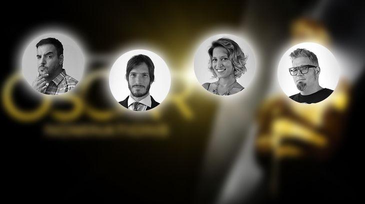 La palabra de los presentadores argentinos de los Premios Oscar
