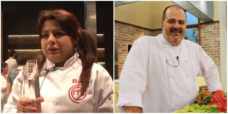 Elba de Masterchef le contestó con todo a Guillermo Calabrese de Cocineros argentinos