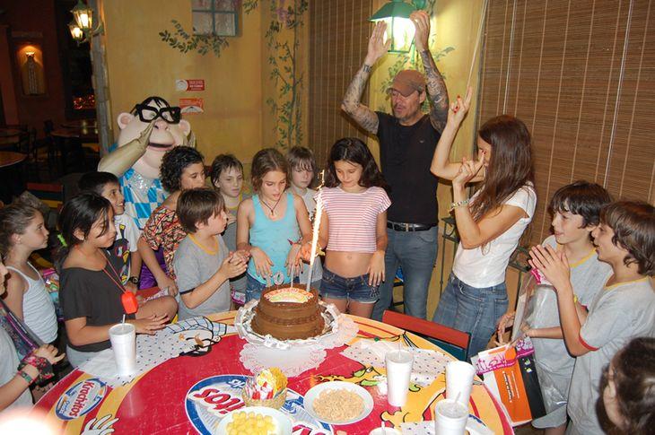 Marcelo Tinelli le festejó el cumpleaños a su hija Juanita