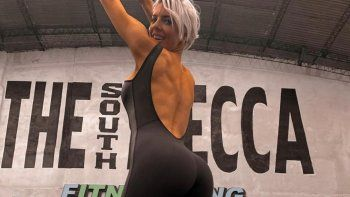 tamara bella, de cantante a competidora de bikini fitness