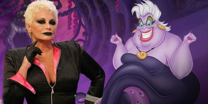 Exclusivo: Carmen Barbieri tentada para ser Ursula, la villana de La Sirenita