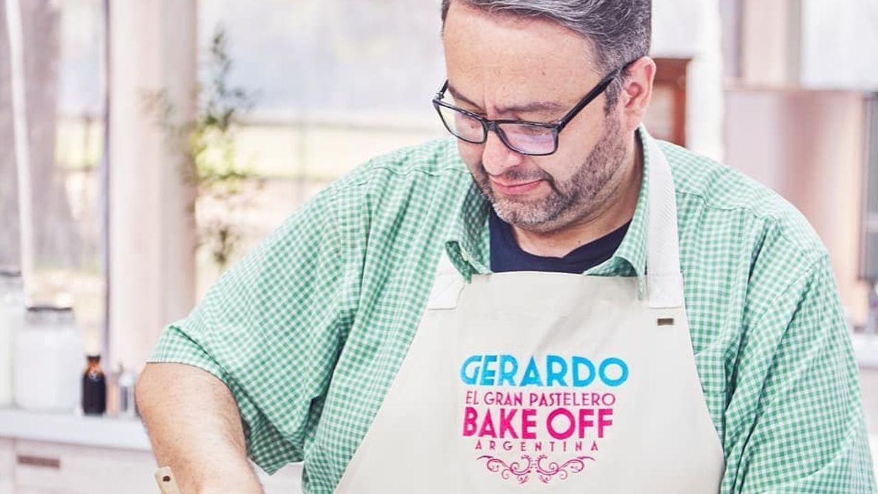 Gerardo, el último eliminado de Bake Off Argentina