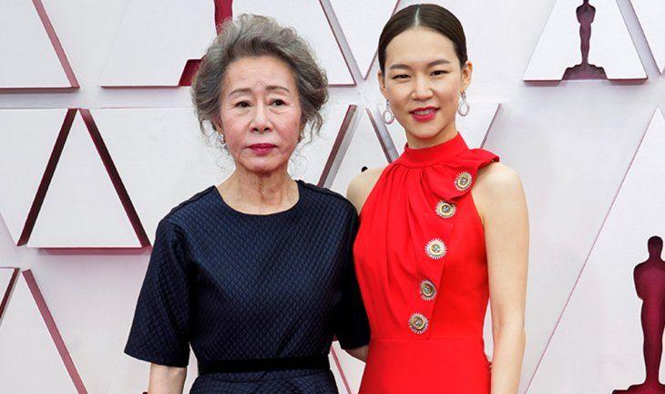 Yuh-Jung Youn y Yeri Han