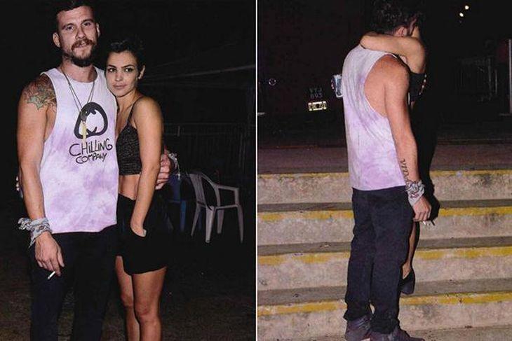 Ya no se oculta: Agustina Cherri a los besos con su nuevo novio