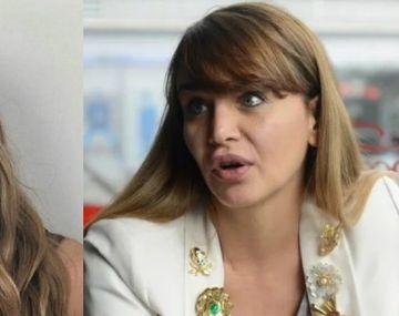 {altText(,Picante cruce entre Amalia Granata y Jimena Barón por la campaña #yocriosola )}