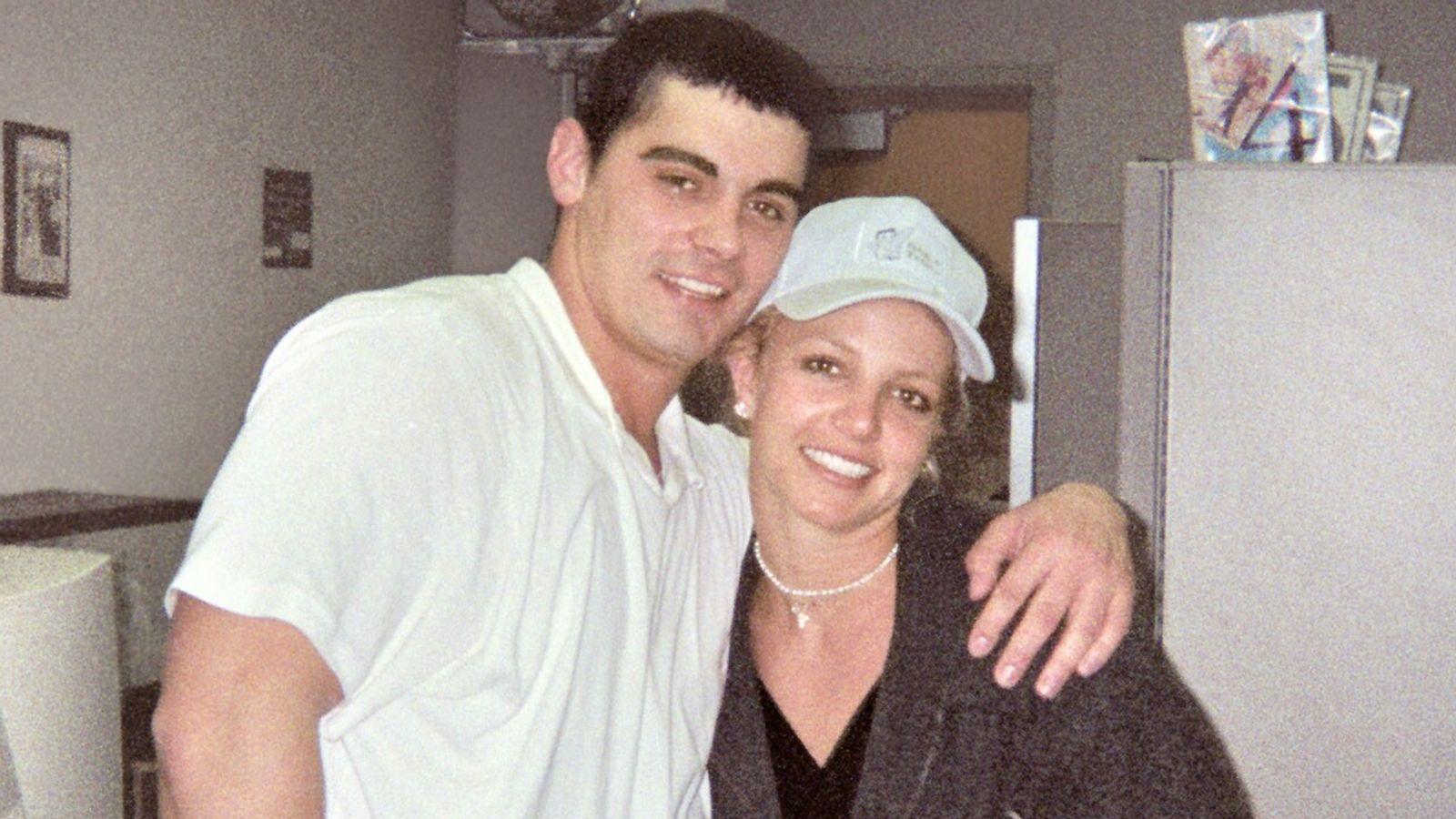 El primer marido de Britney Spears participó en la toma del Capitolio de Estados Unidos