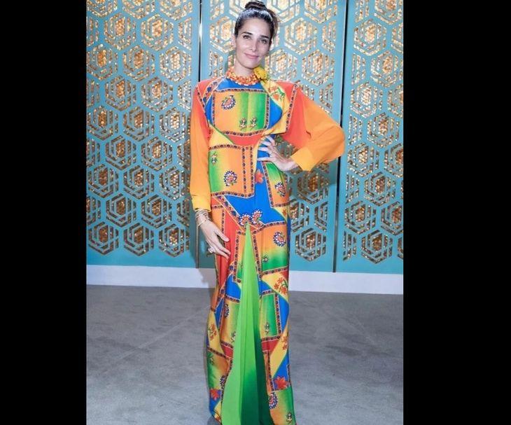 Lo hizo otra vez: Juana Viale se puso un vestido muy original y estallaron los memes
