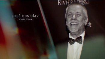in memoriam: los oscar recordaron al argentino jose luis ruidito diaz